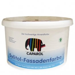 Caparol Sylitol-Fassadenfarbe 12,5 Liter, weiß - 1